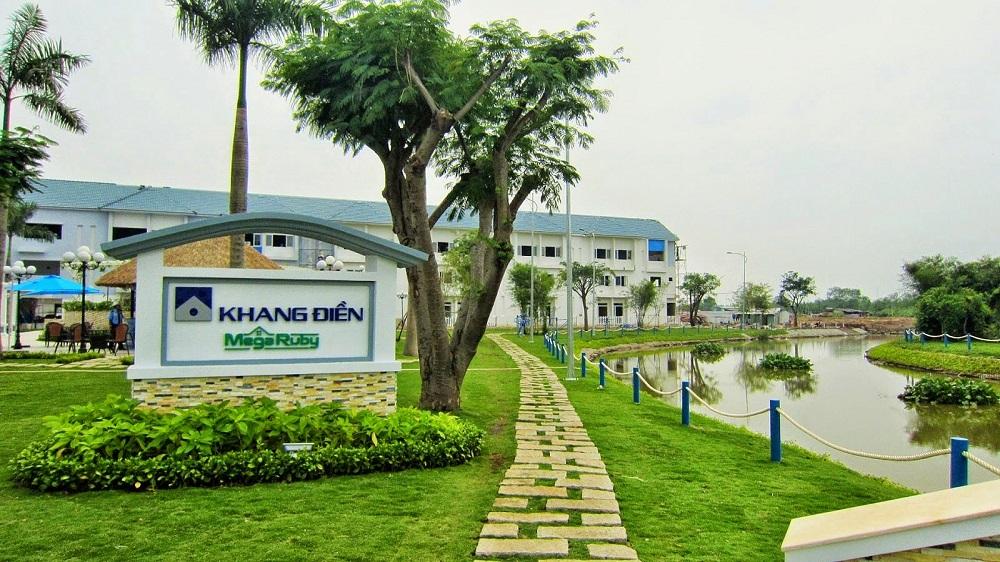 Khu dân cư Mega kế bên căn hộ Safira Khang Điền