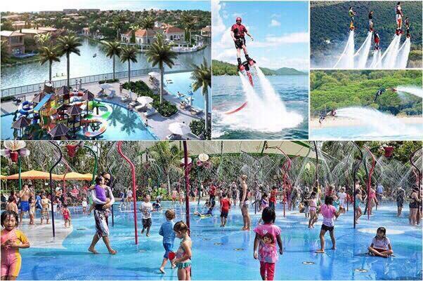 Công viên nước hoành tráng với nhiều hoạt động bổ ích