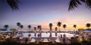 Hồ bơi Perolas Villa Resort