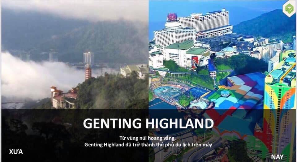 Genting Highland Malaysia từ vùng núi hoang vắng trở thành thủ phủ du lịch trên mây