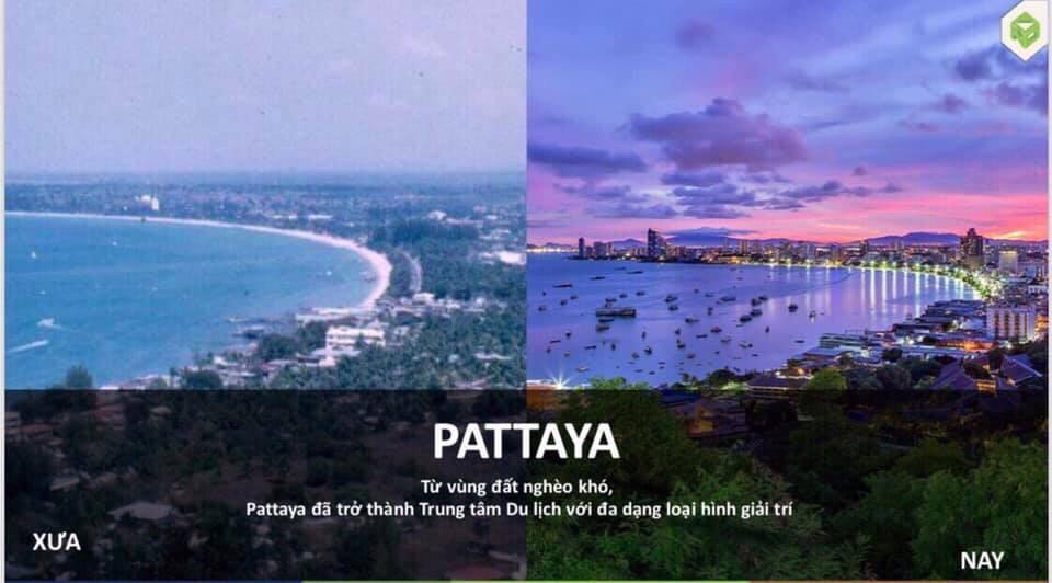 Pattaya Thái Lan từ vùng đất nghèo khó trở thành trung tâm du lịch thế giới