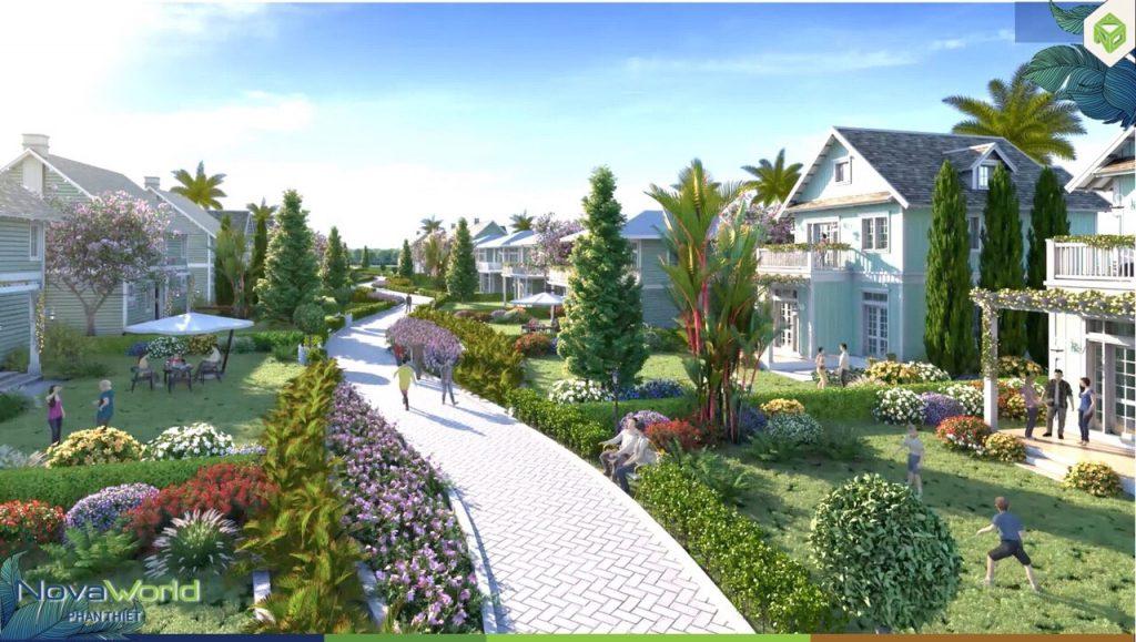 Nhà phố biệt thự biển dự án Novaworld Phan Thiết