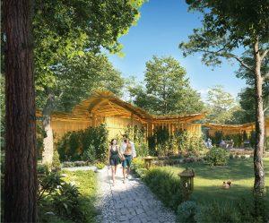 Vườn nhiệt đới Perolas Villas Resort