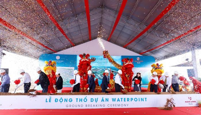 Lễ động thổ dự án Waterpoint Nam Long