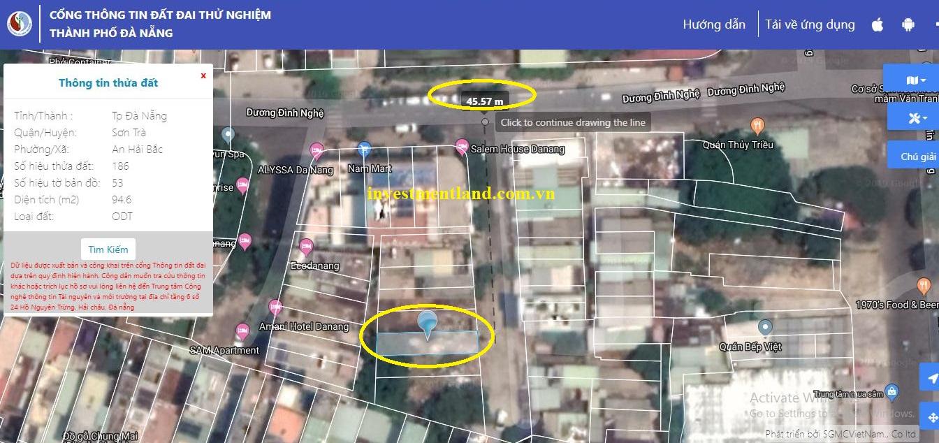 đất đường Dương Đình Nghệ, phường An Hải Bắc, Thành phố Đà Nẵng