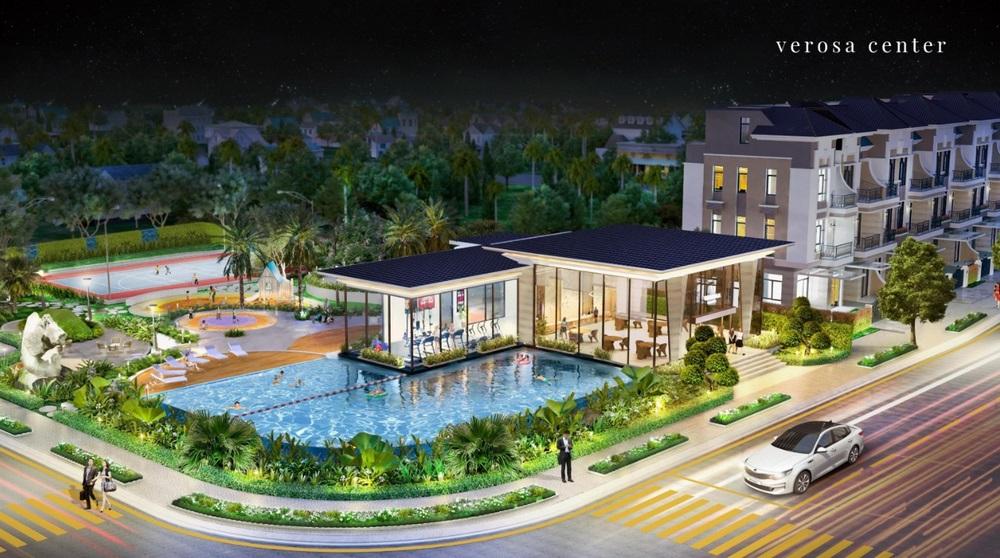 Hồ bơi và Club house Verosa Park Khang Điền