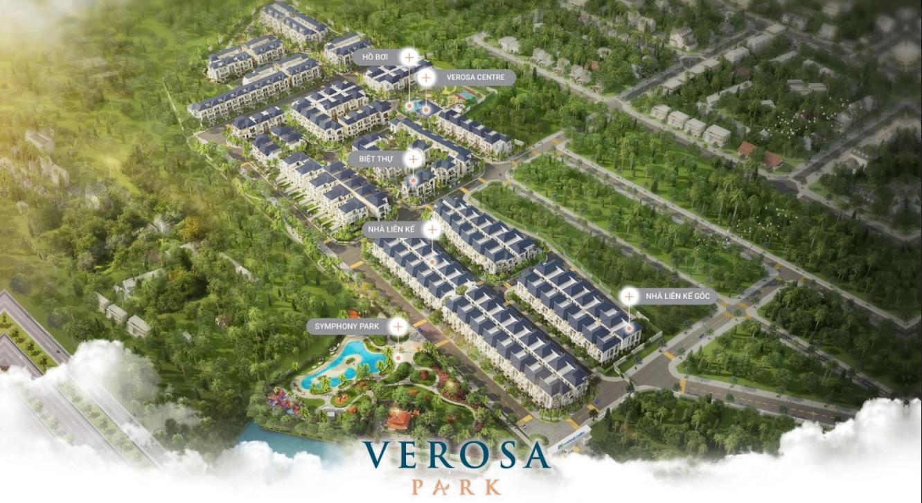 Sơ đồ phân bố dự án Verosa Park Khang Điền