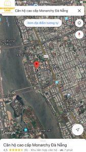 Vị trí đất mặt tiền đường Trần Hưng Đạo Sơn Trà Đà Nẵng
