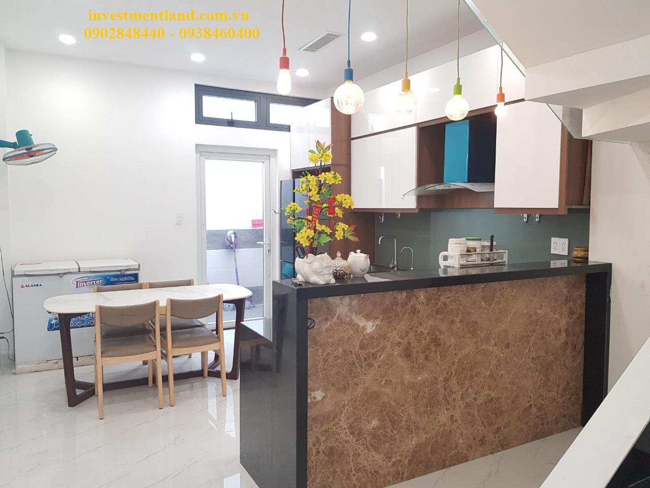 Không gian bếp nhà đường Gò Cát