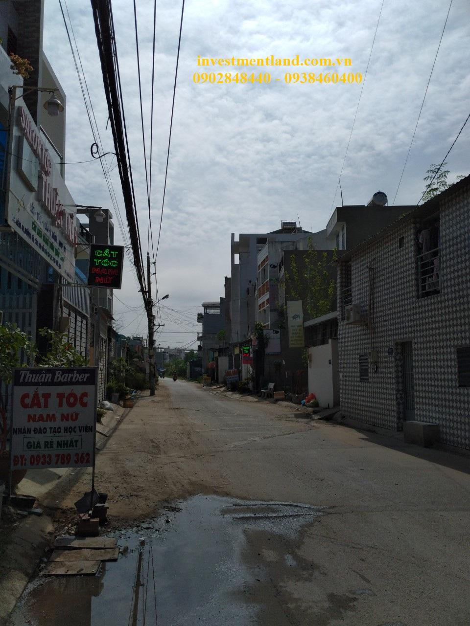 Đường trước nhà hẻm xe hơi đường Gò Cát, Phường Phú Hữu, Quận 9, Tp.HCM