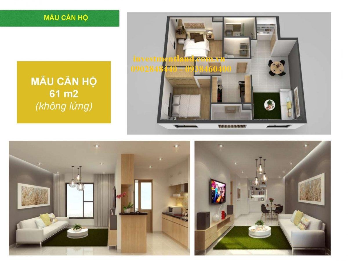Thiết kế căn hộ chung cư La Astoria quận 2