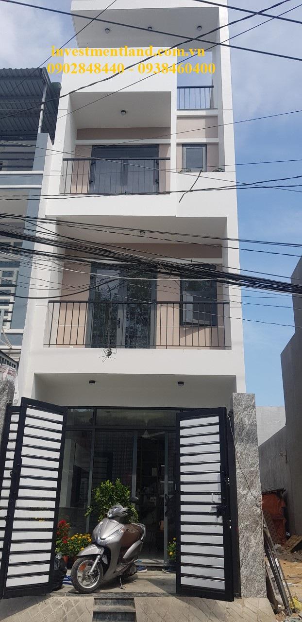 Nhà mặt tiền hẻm đường Gò Cát, phường Phú Hữu, Quận 9, Tp.HCM