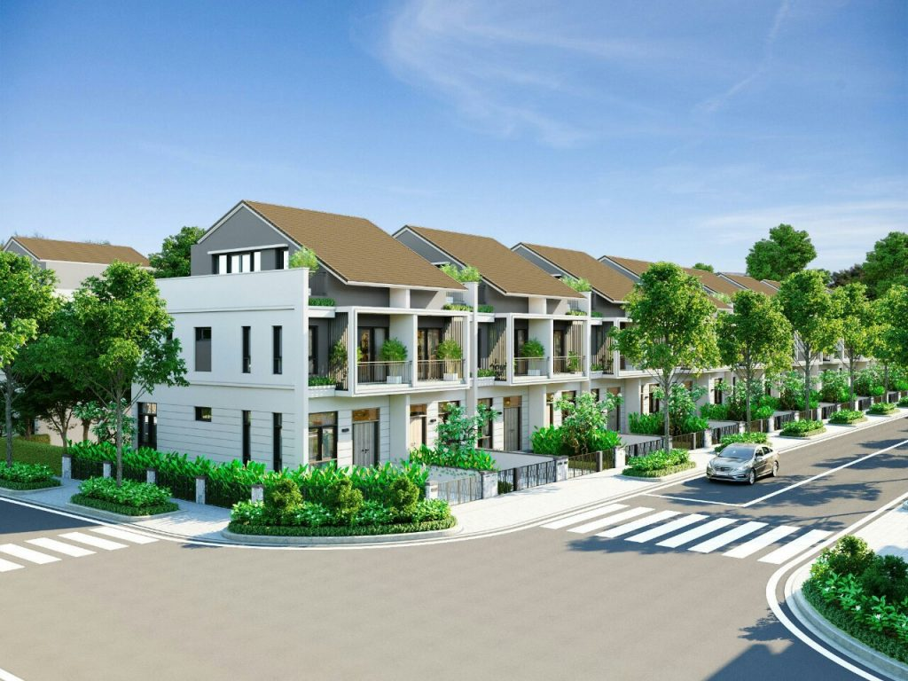 Nhà phố liên kế dự án 92ha Long Thành Đồng Nai Đất Xanh