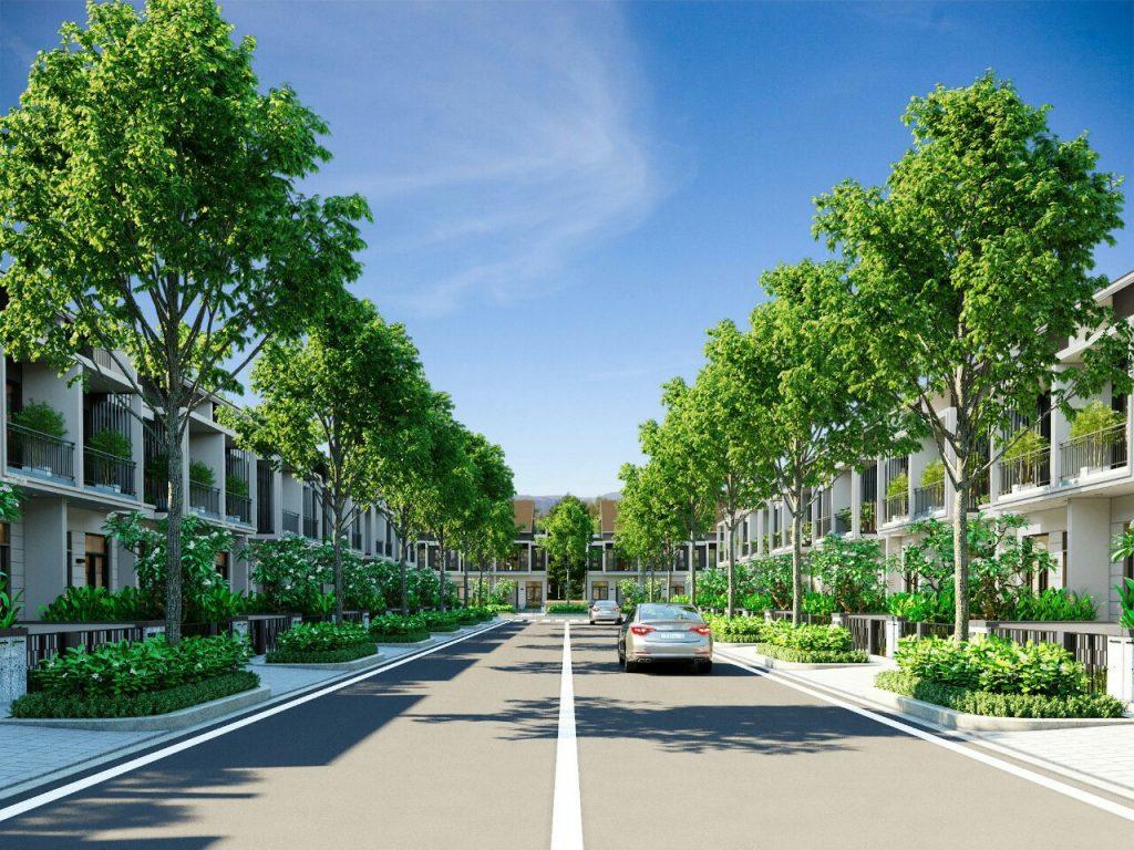 Nhà phố dự án 92ha Long Thành Đồng Nai Đất Xanh