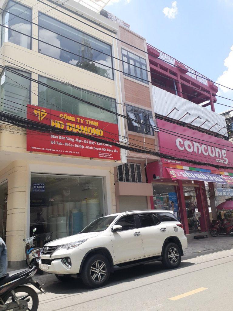 Bán nhà mặt tiền Phạm Văn Hai phường 5 quận Tân Bình TPHCM