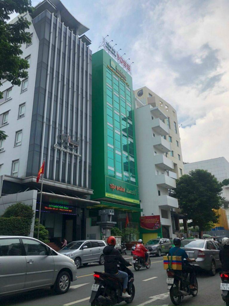 Bán tòa nhà 24 Nguyễn Bỉnh Khiêm Quận 1 đang cho thuê